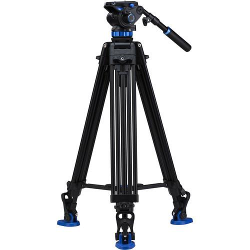 Benro S7 Dual Stage Video Tripod Kit - Available with the LensLockers Equipment Access Program (LEAP)