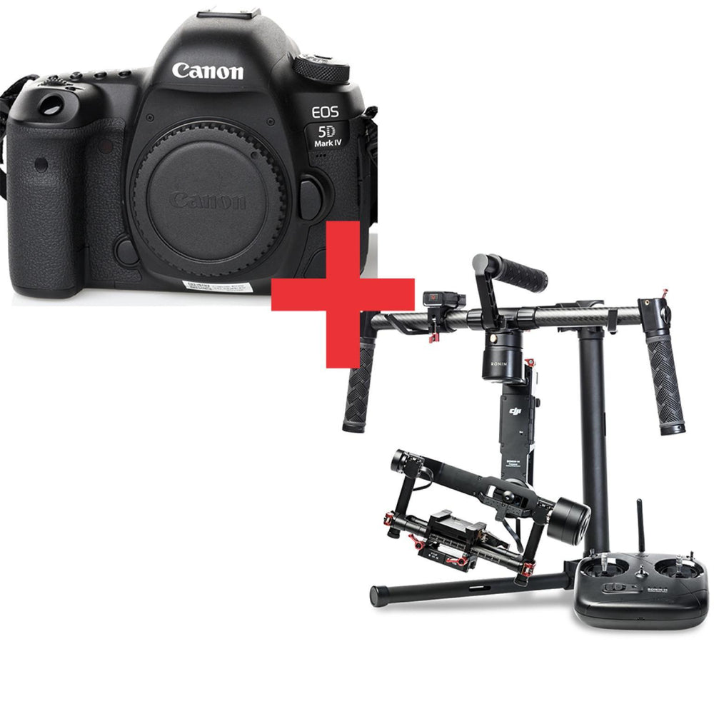 Canon 5D Mark IV + DJI Ronin-M - Available with the LensLockers Equipment Access Program (LEAP)