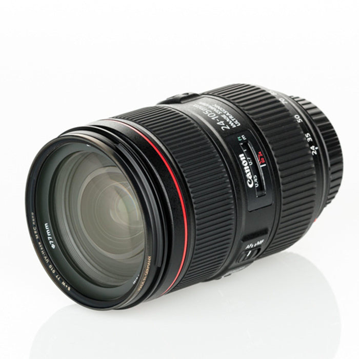 Canon EF 24-105mm f/4L IS USM - Available with the LensLockers Equipment Access Program (LEAP)