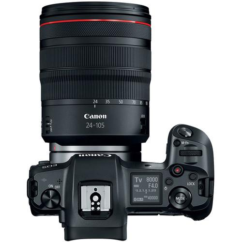 Canon EOS R Mirrorless Digital Camera - Available with the LensLockers Equipment Access Program (LEAP)