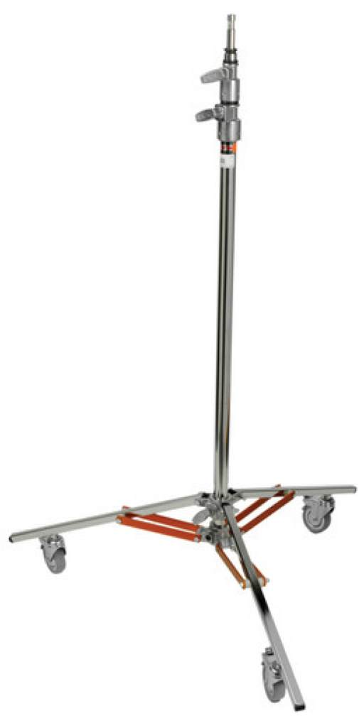 Matthews Baby Jr. Steel Wheeled Stand - Available with the LensLockers Equipment Access Program (LEAP)