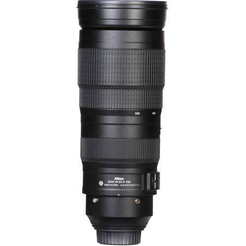 Nikon AF-S NIKKOR 200-500mm f/5.6E ED VR Lens - Available with the LensLockers Equipment Access Program (LEAP)