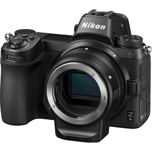 Nikon Z6 Mirrorless Digital Camera with FTZ Mount Adapter Kit - Available with the LensLockers Equipment Access Program (LEAP)