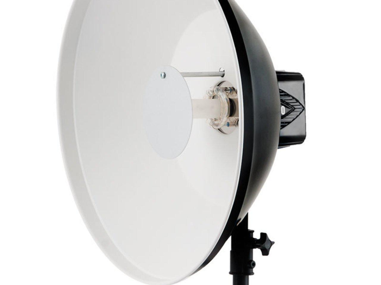 Paul C. Buff White High Output Beauty Dish - Available with the LensLockers Equipment Access Program (LEAP)