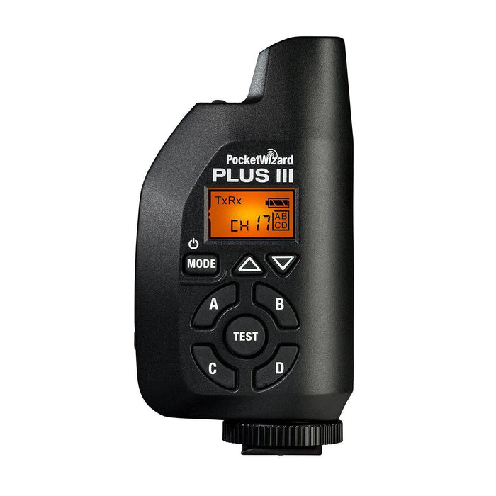 PocketWizard PocketWizard Plus III Transceiver - Available with the LensLockers Equipment Access Program (LEAP)