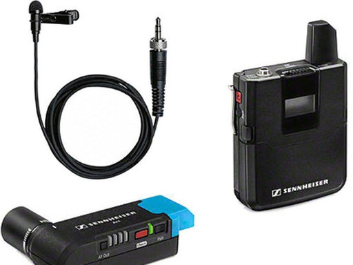 Sennheiser AVX Camera-Mountable Lavalier Digital Wireless Set (ME2 Lavalier) - Available with the LensLockers Equipment Access Program (LEAP)