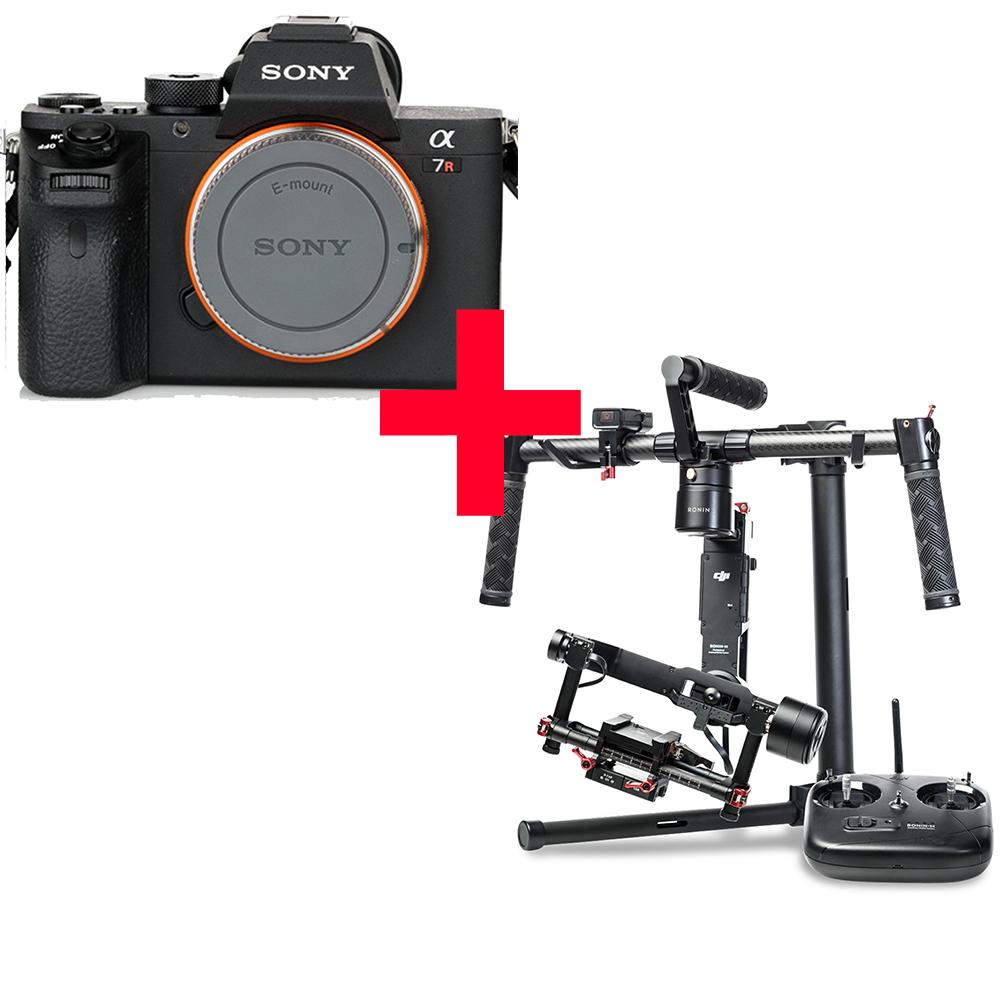 Sony Alpha a7R II + DJI Ronin-M - Available with the LensLockers Equipment Access Program (LEAP)