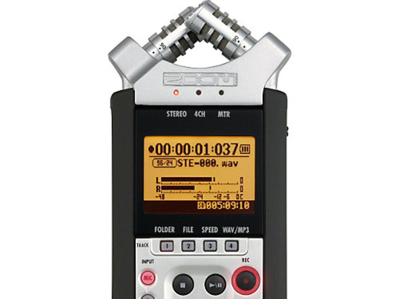Zoom H4N - Available with the LensLockers Equipment Access Program (LEAP)