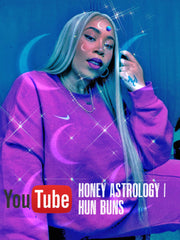 Honey Astrology & Hun Buns YouTube Channel