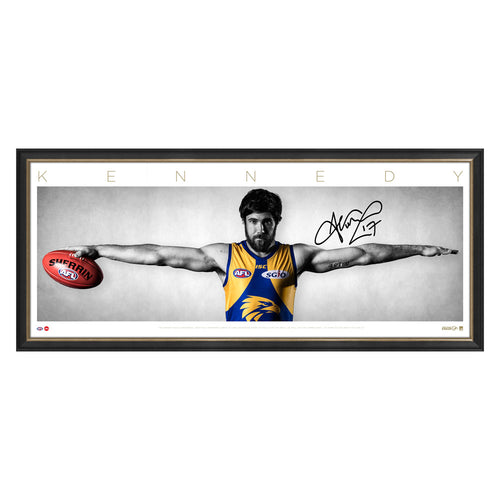 Josh Kennedy Wings - Heroes Framing & Memorabilia