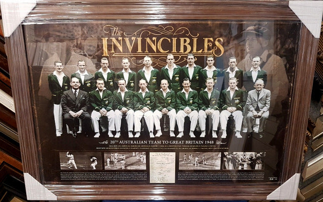 THE INVINCIBLES 1948 TOURING TEAM LTD ED - Heroes Framing & Memorabilia