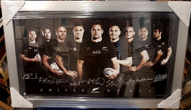 ALL BLACK CHAMPIONS - Heroes Framing & Memorabilia