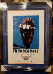 "MICHAEL DOOHAN ""THUNDER BOLT SIGNED LTD ED - Heroes Framing & Memorabilia"
