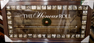"AUSTRALIAN CAPTAINS ""THE HONOUR ROLL"" - Heroes Framing & Memorabilia"