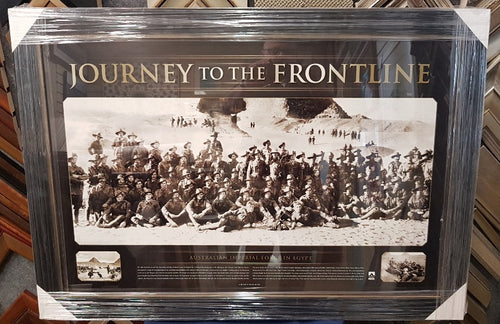 JOURNEY TO THE FRONT LINE WWI - Heroes Framing & Memorabilia