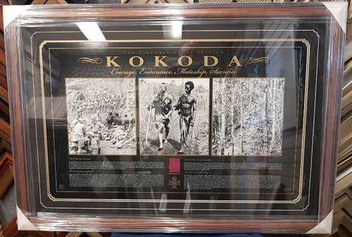 KOKODA VICTORIA CROSS EDITION LTD ED - Heroes Framing & Memorabilia
