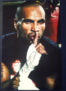 "ANTHONY MUNDINE SIGNED 12x18"" PHOTO. COA - Heroes Framing & Memorabilia"