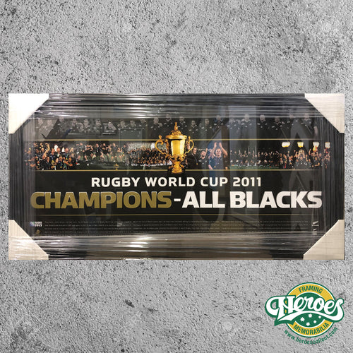 All Blacks - Rugby Union - World Cup 2011 Print - Heroes Framing & Memorabilia