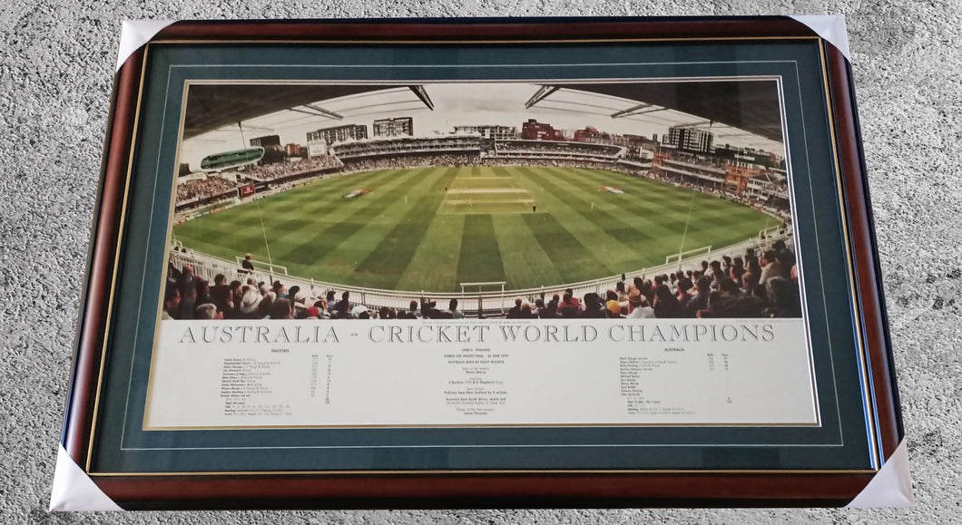 Australia- Cricket World Champions print - Heroes Framing & Memorabilia