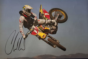 "Chad Reed signed photo 12x18"" with COA - Heroes Framing & Memorabilia"