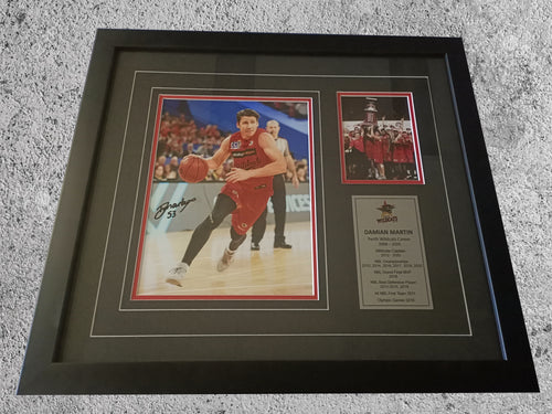 Damian Martin signed photo - Heroes Framing & Memorabilia