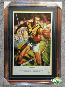 Guy McKenna signed limited edition art print - Heroes Framing & Memorabilia