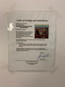 Beatles - Sgt Pepper Signed Album - Heroes Framing & Memorabilia