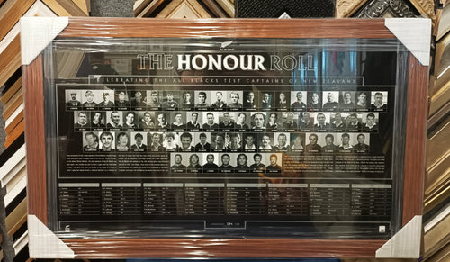 All Blacks Honour Roll - Heroes Framing & Memorabilia