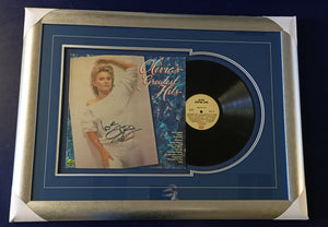 Olivia Newton-John greatest hits signed record - Heroes Framing & Memorabilia