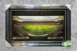 Opening Bounce- West Coast Eagles v Sydney Swans Limited Edition print - Heroes Framing & Memorabilia