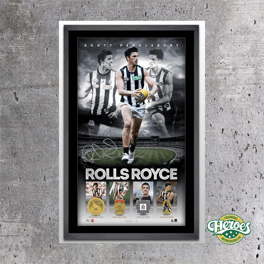 Scott Pendlebury – The Rolls Royce of AFL - Heroes Framing & Memorabilia