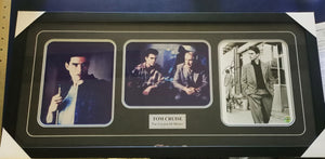 Tom Cruise 'The Colour of Money' signed montage framed - Heroes Framing & Memorabilia