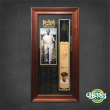 Load image into Gallery viewer, Don Bradman Signed Cricket Bat - Heroes Framing & Memorabilia