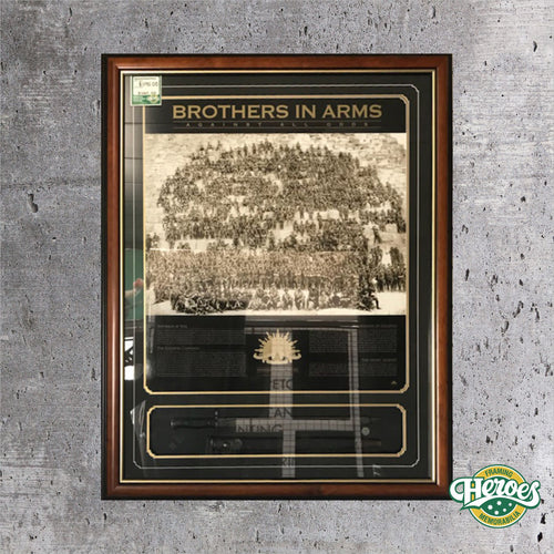 Brothers In Arms with 1907 Bayonet - Heroes Framing & Memorabilia