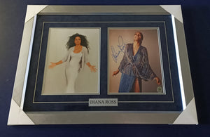 Diana Ross signed photo - Heroes Framing & Memorabilia