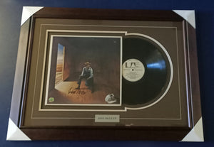 Don McLean signed record framed - Heroes Framing & Memorabilia