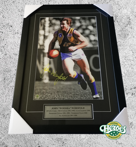 "John ""Woosha"" Worsfold Signed 12x18"" Photo - Heroes Framing & Memorabilia"
