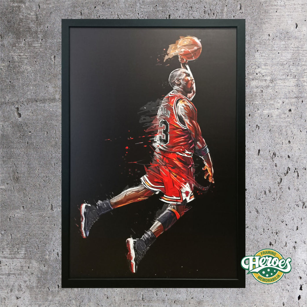 Art Series - Michael Jordan Print
