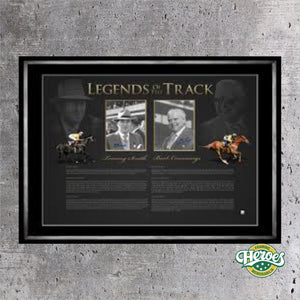 Legends of the Track - Heroes Framing and  Memorabilia