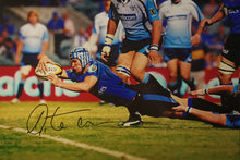 "Load image into Gallery viewer, Matt Giteau personally signed photos 12x18"" COA - Heroes Framing & Memorabilia"