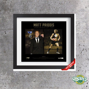 Matt Priddis 2014 Brownlow Medallist - Heroes Framing & Memorabilia