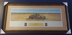 'Recovery' watercolour by Ian Coate - Heroes Framing & Memorabilia
