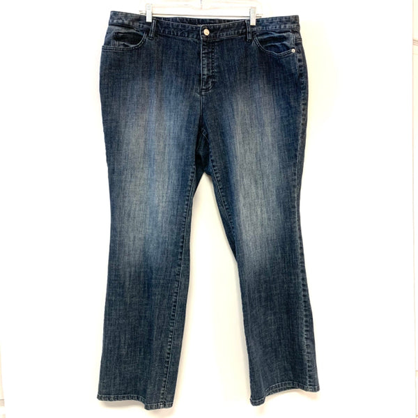 Michael Kors Size 20 Women's Blue Washed Denim Jeans
