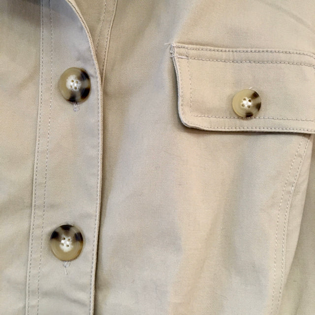 Jacket 4 pocket button down solid
