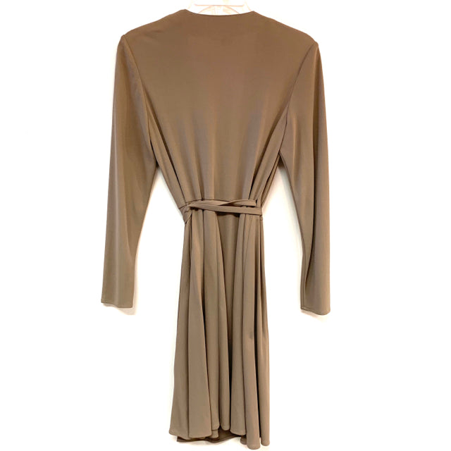Dress long sleeve wrap solid