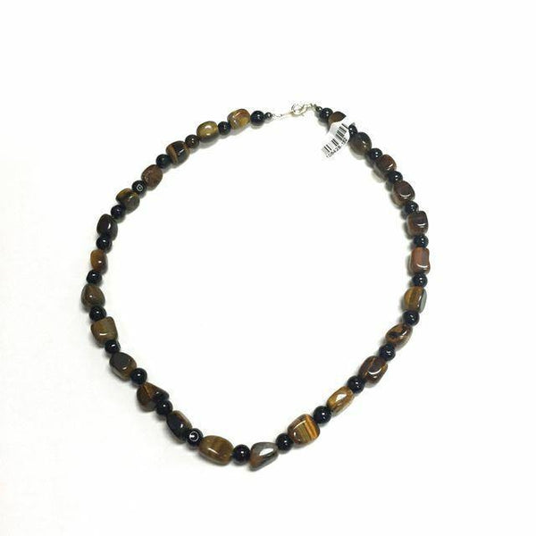 Brown Tiger's Eye Necklace