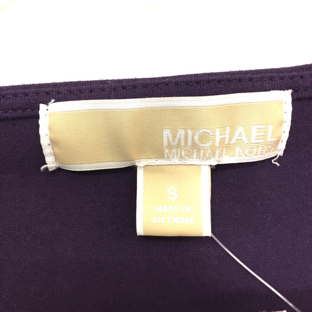 Michael Michael  Kors Size S Solid Long Sleeve Top
