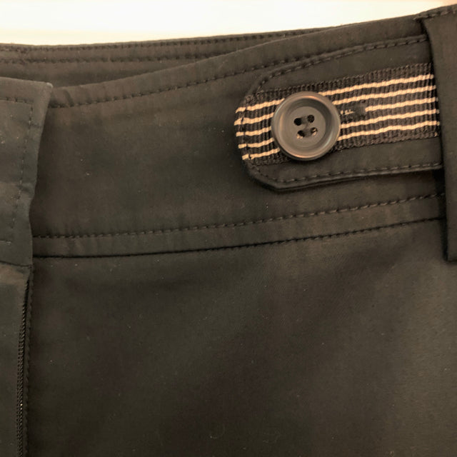 Pants stripe waist chino