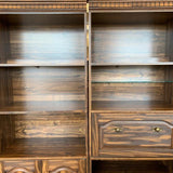 Bookshelves w/ drawer