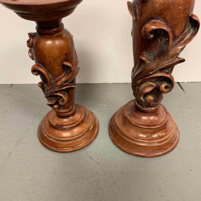 Biltmore Inspirations Set of 2 Candle Pillars